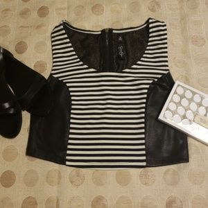 JESSICA SIMPSON CROP TOP